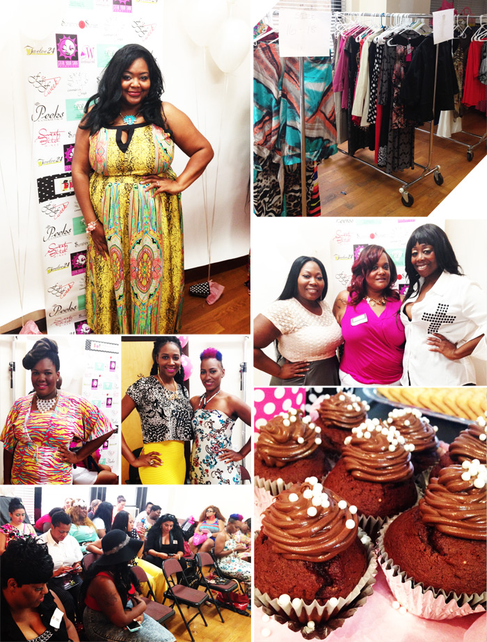 NYC Sip'n Swap Full Figured Fashion Week