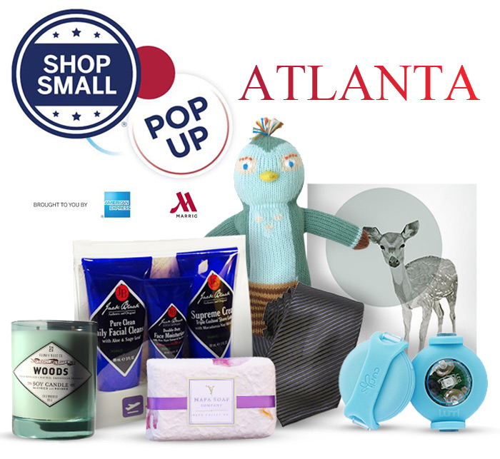 Marriott Hotels American Express hosts Shop Small Pop Up Shop