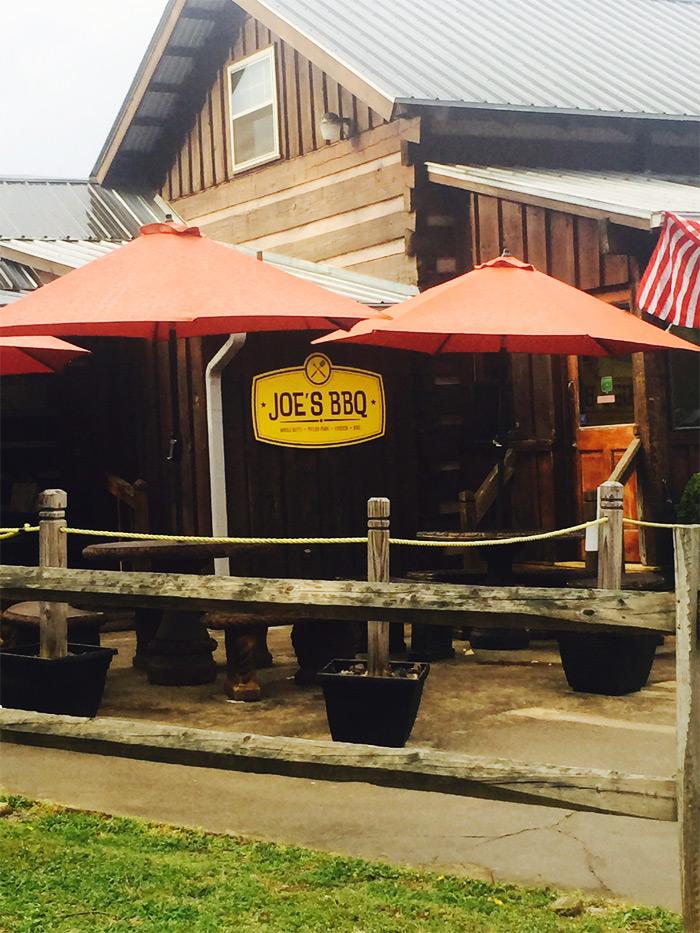 Blue Ridge Mountains Joe's BBQ