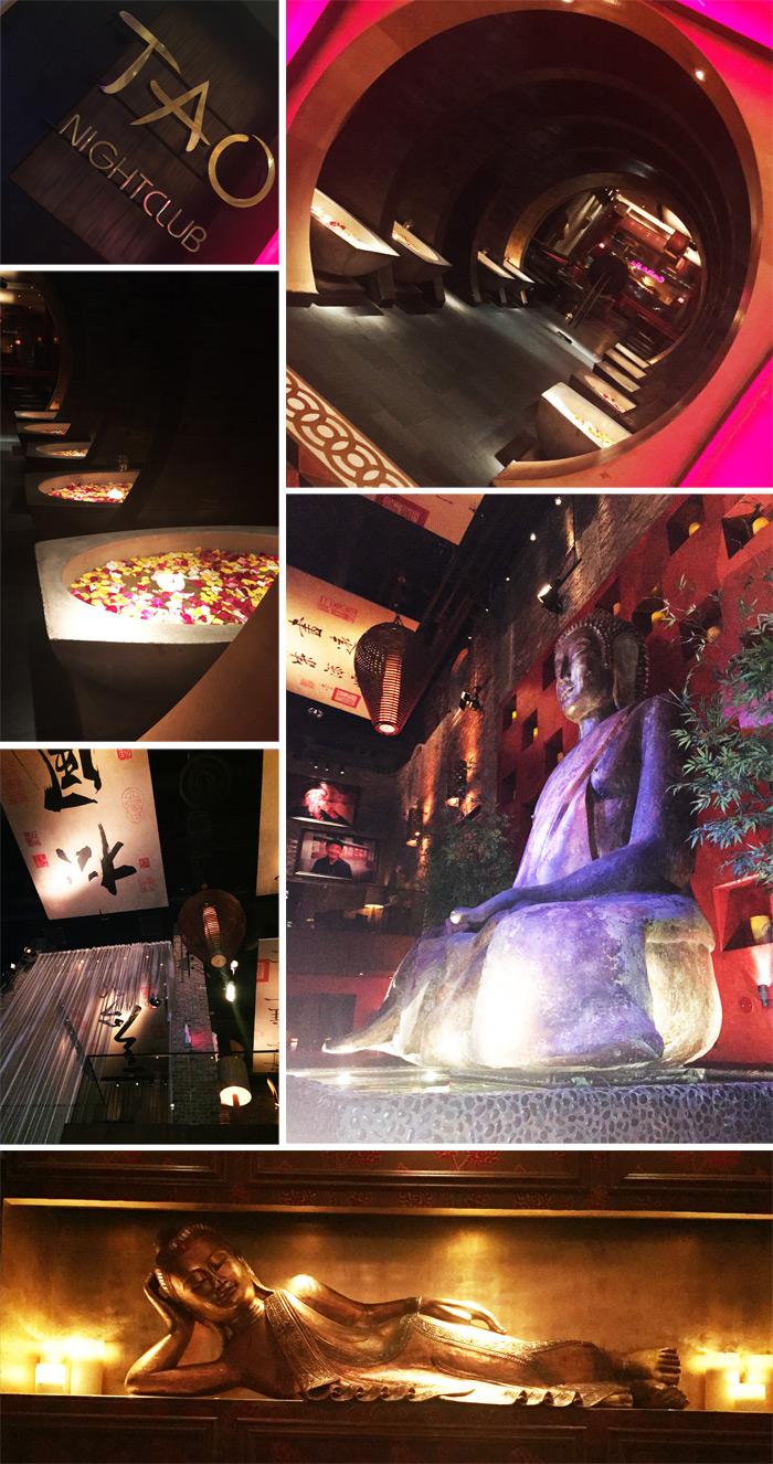 TAO Lounge Restaurant Las Vegas