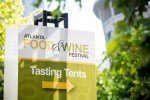 Atlanta Food Wine Festival tasting tents