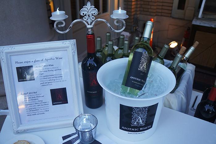 Diner en Blanc ATL Apothic Wine
