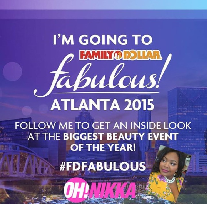 Family Dollar Fabulous 2015 in Atlanta