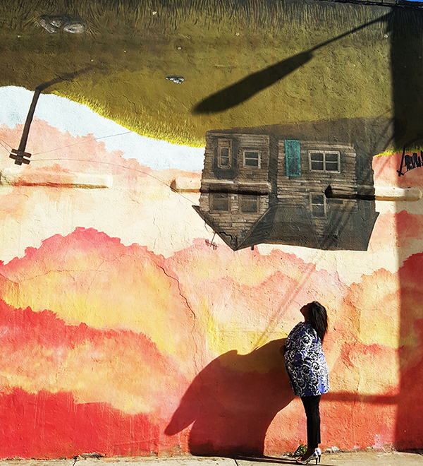 Atlanta-mural-street-art-upside-down-house-1