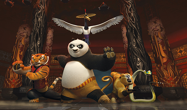 Kung Fu Panda DVD collection