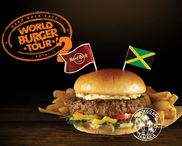 Jamaican Jerk Burger