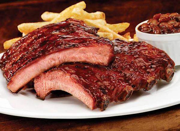 Smokey Bones Bar & Fire Grill Ribs