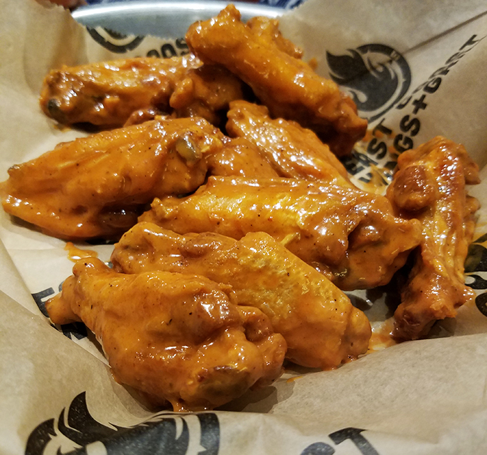 East Coast Wings + Grill Insanity Wings