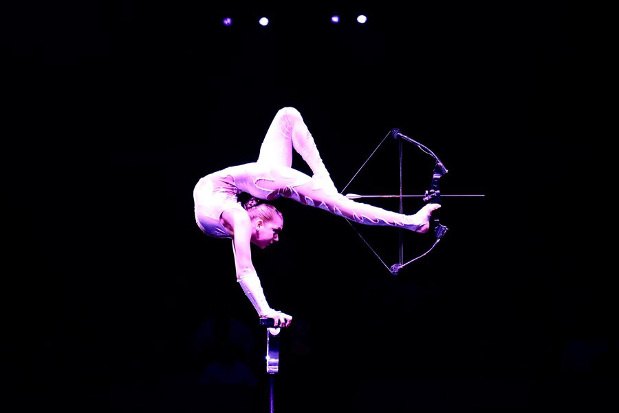 Elayne Kraymer Photo by Julianna M Crawford Big Apple Circus