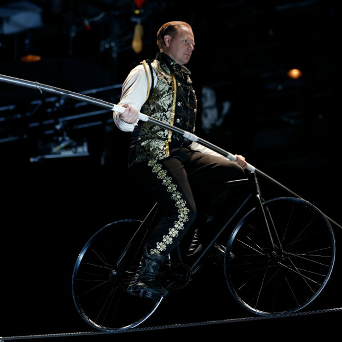 Nik Wallenda Photo Big Apple Circus