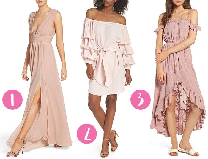 blush fashion inspirations