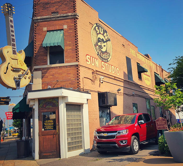 2018 Chevy Colorado Memphis Sun Studios