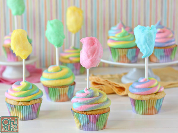 Cute Little Fairy Wallpaper Cotton Candy Cupcakes Oh Nuts Blog
