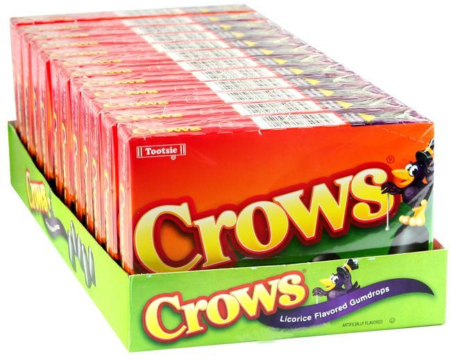 tootsie dots crows gumdrops