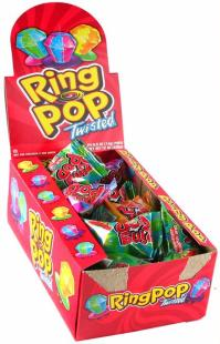 Twisted Candy Ring Pops - 24CT Box  Kids Candy Shoppe ...