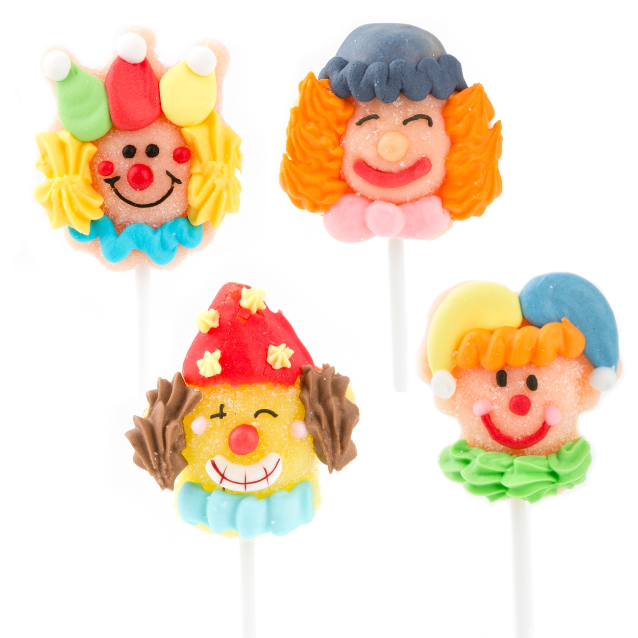 purim mini clown jelly