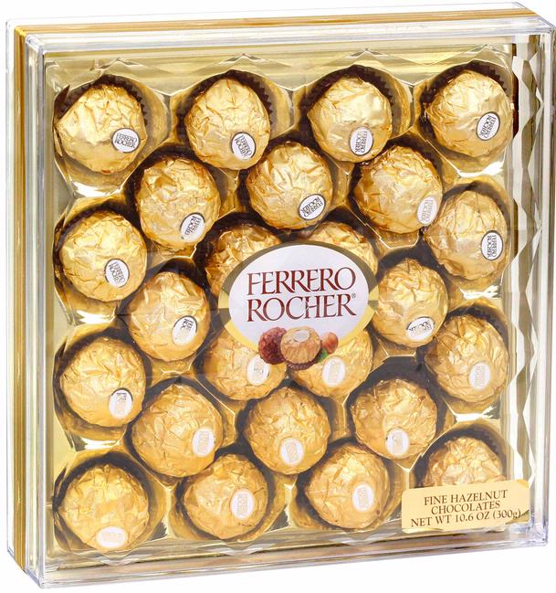 Ferrero Rocher Chocolate Truffle Gift Box 24 Pc
