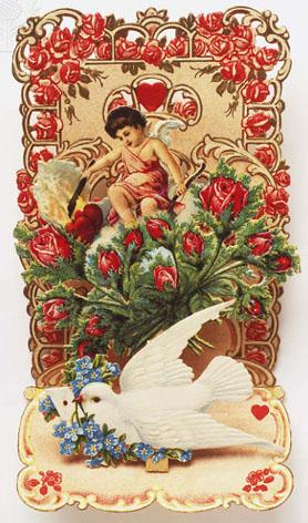 Victorian Valentine card.
