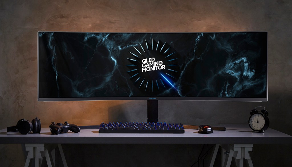 Samsung's New 2019 Space Monitor Are Designed for Modern Workspaces and Next Generation Gaming