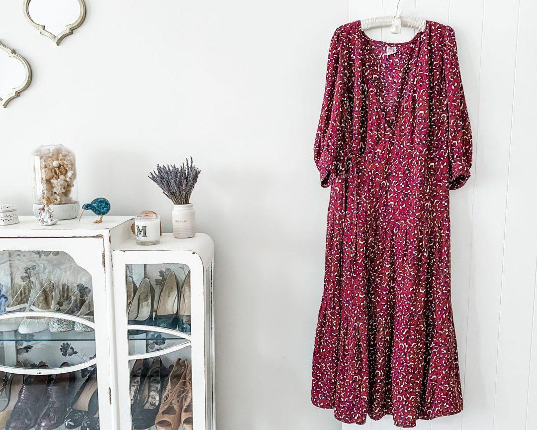 cashmerette roseclaire dress made in lamazi fabric