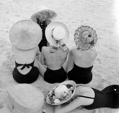 vintage summer hats