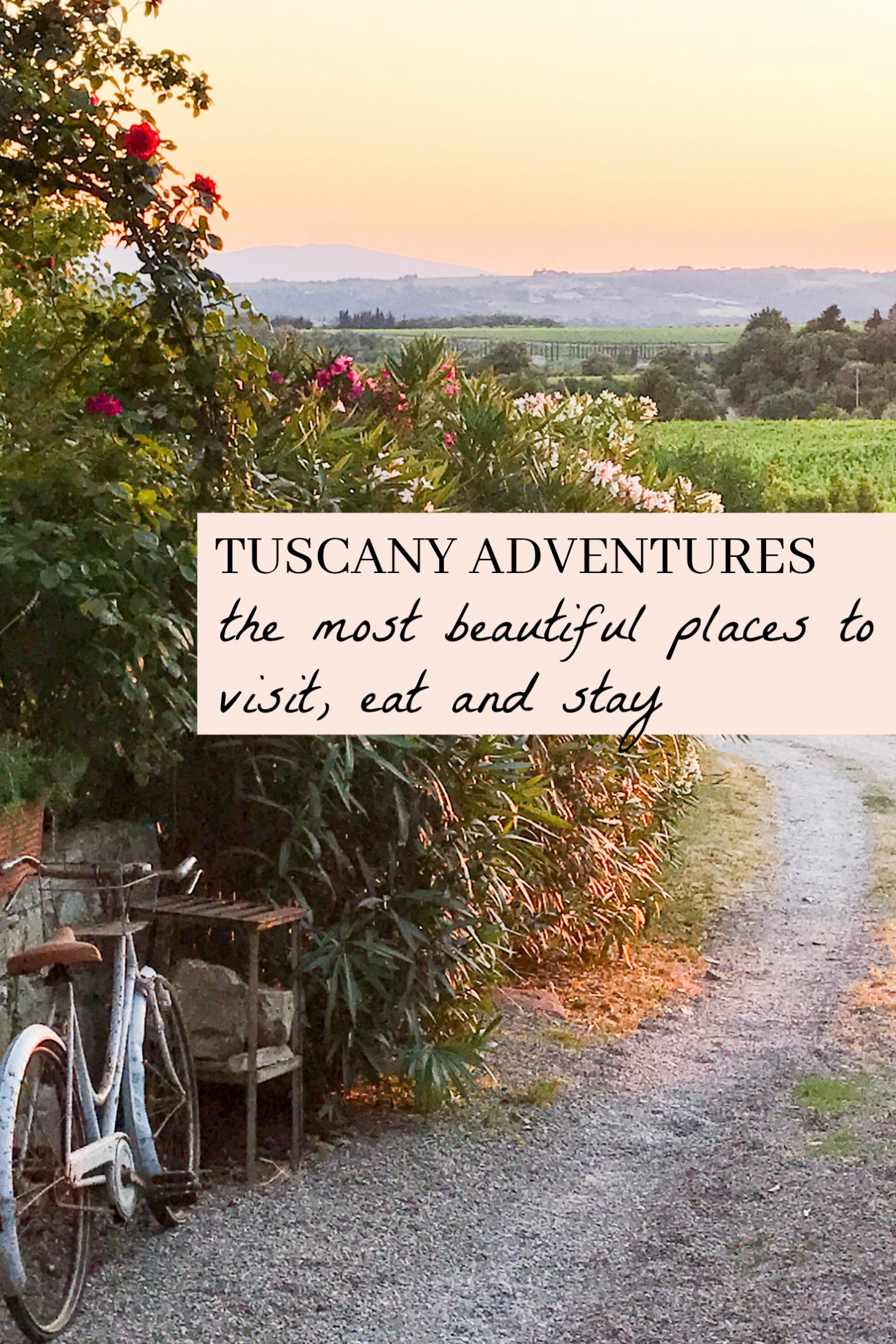 3 DAY TUSCAN ADVENTURE