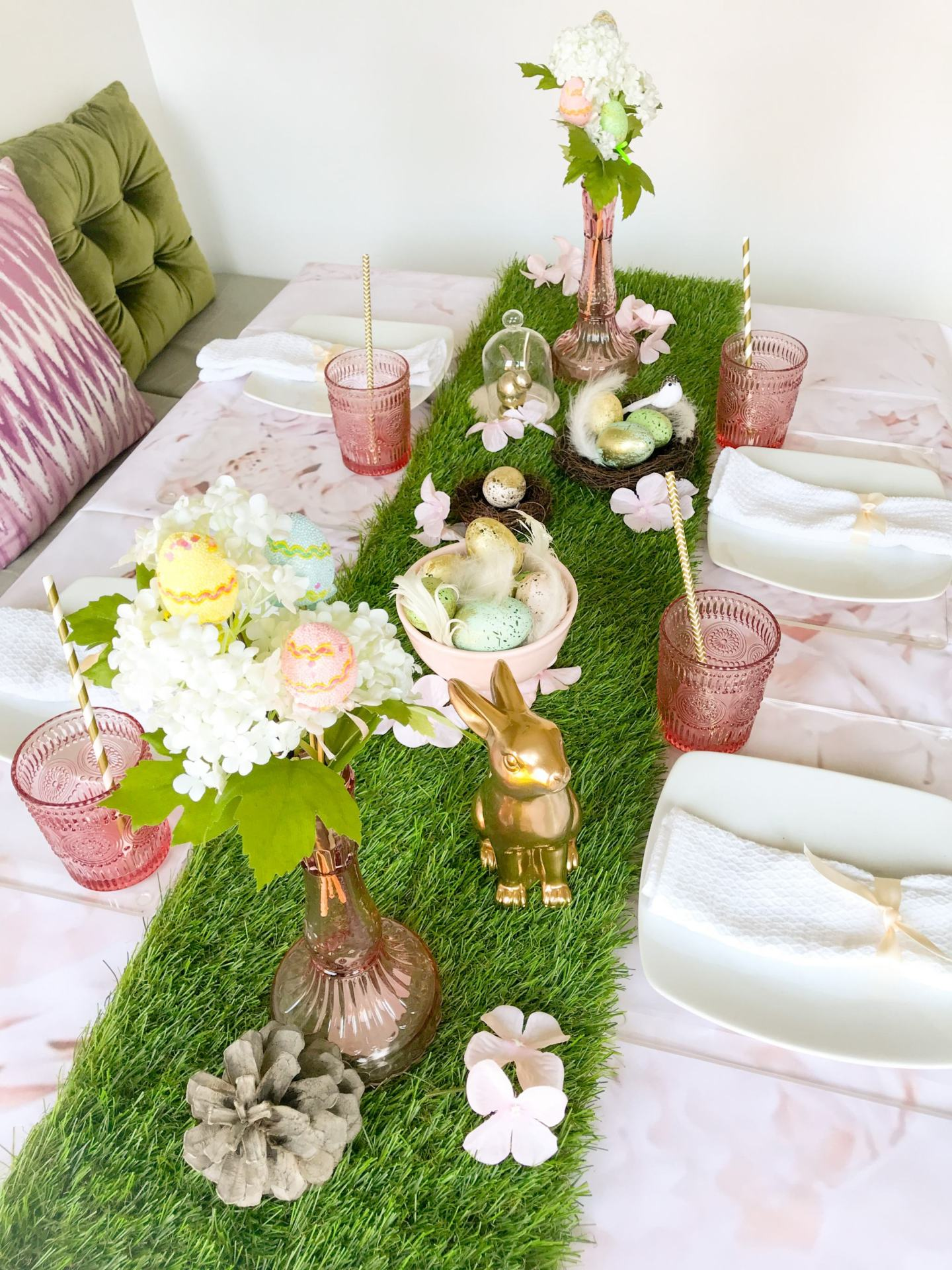 EASTER GARDEN TABLESCAPE