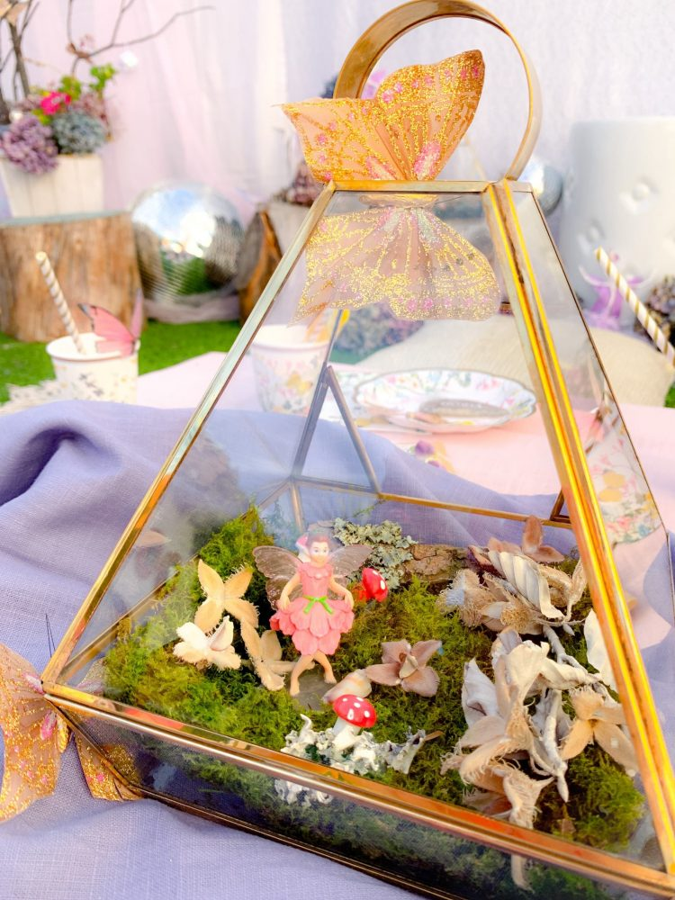 Lilac Enchanted Fairy Garden Party
