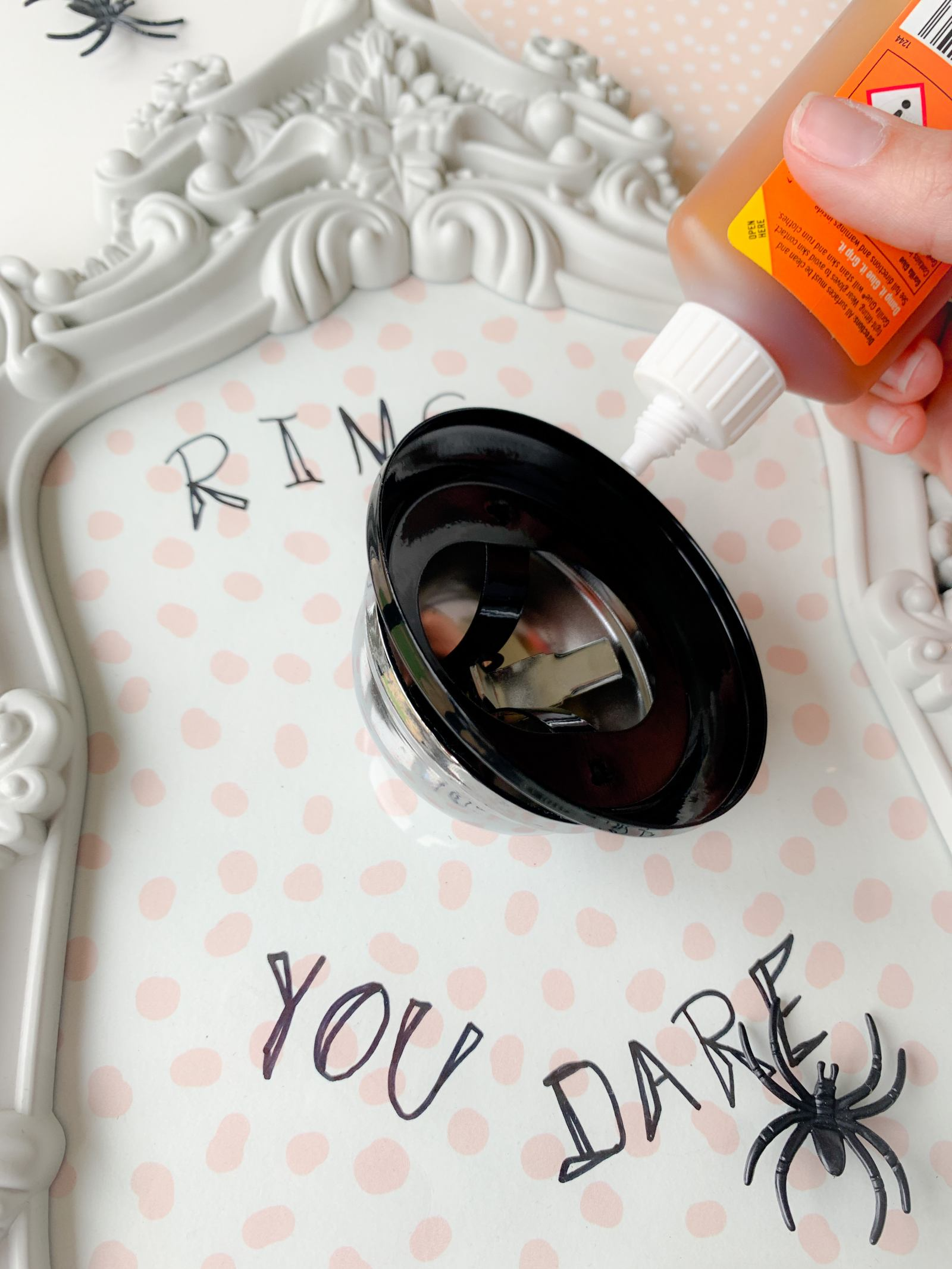 DIY Chic Halloween Pictures that cost nothing!