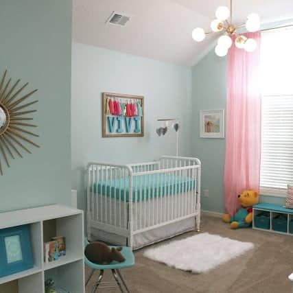 DIY //  POST MOD BABY NURSERY