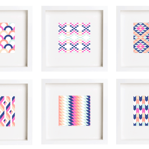 FREEBIES // SPRINGY GEOMETRICS