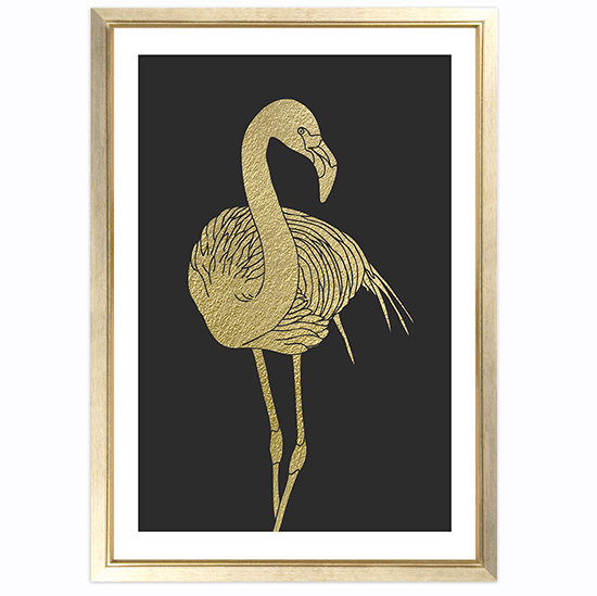 FREEBIES // GOLDEN GLAM FLAMINGOS