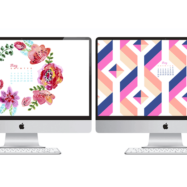 FREEBIES  //  MAY DESKTOPS