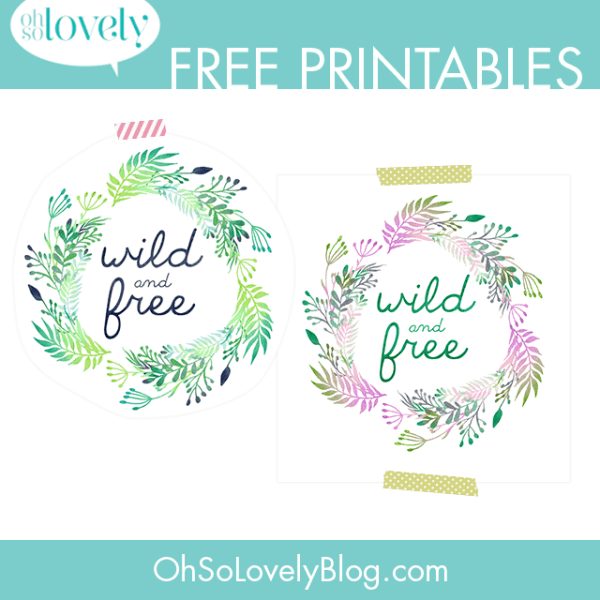 VIVI'S NEW ROOM PLANS + WILD & FREE PRINTABLES