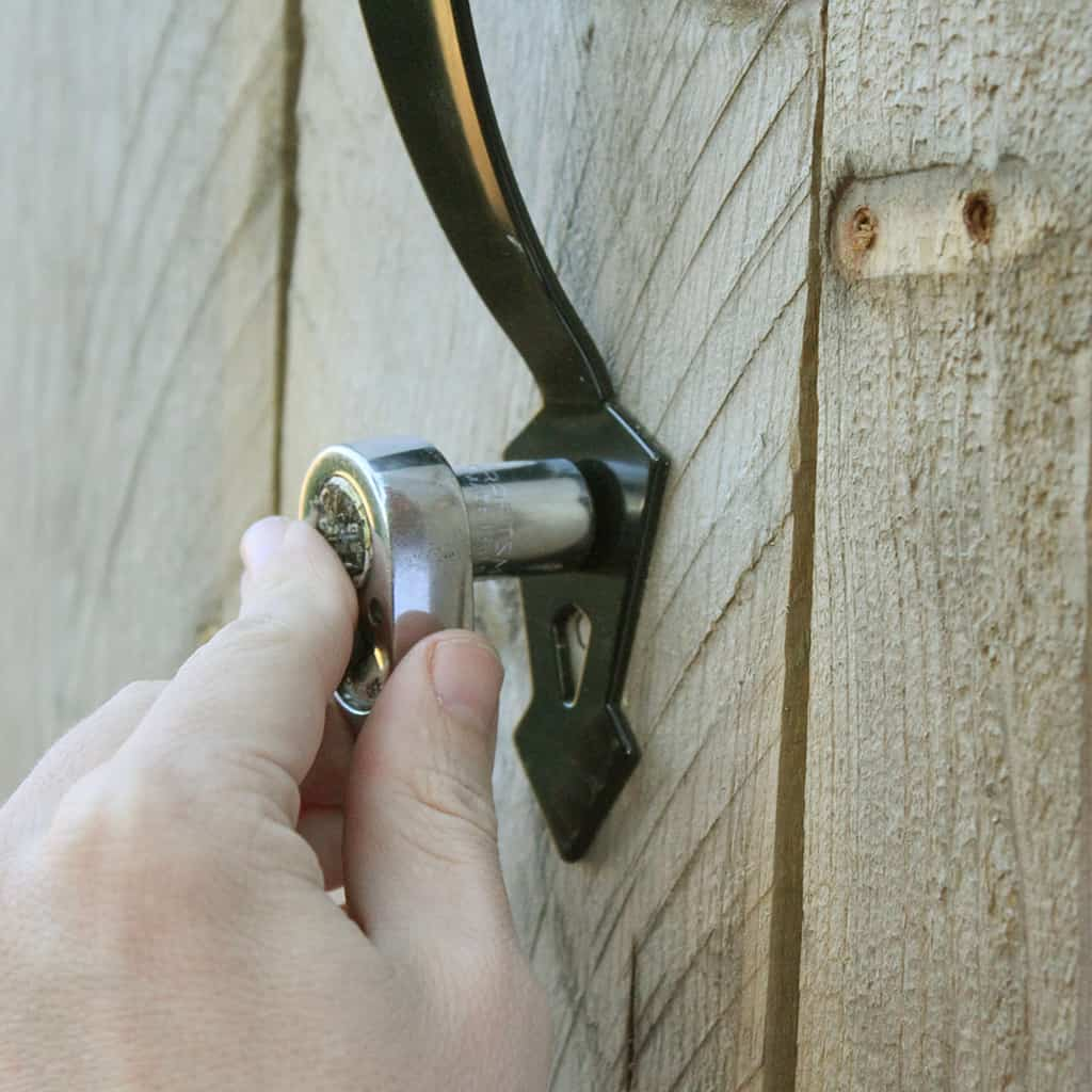 DIY GATE HARDWARE TUTORIAL GIVEAWAY
