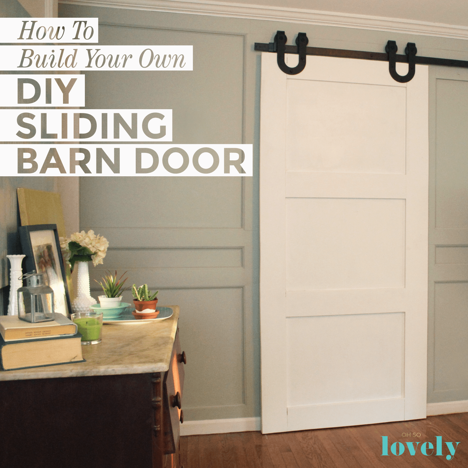 How To Build Your Own DIY Sliding Barn Door   A Compete Tutoria