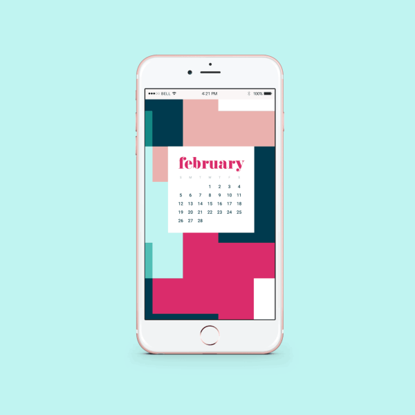 FREEBIES  //  FEBRUARY 2017 TECH WALLPAPERS
