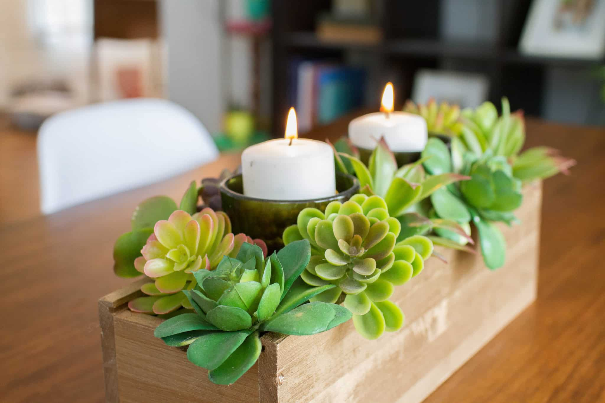 Affordable And Easy DIY Succulent Centerpiece Tutorial