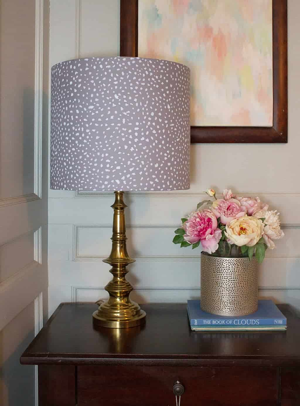 Make your own diy lamp shade from an i like that lamp kit audrey of oh so lovely blog shows you just how easy it is to make your aloadofball Image collections