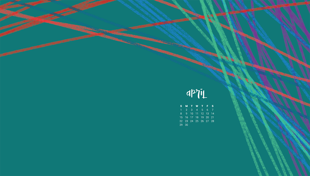 Audrey of Oh So Lovely Blog shares her FREE April desktop calendar wallpapers. There are 6 designs to choose from for desktop and mobile in both Sunday and Monday starts. Download yours Today!