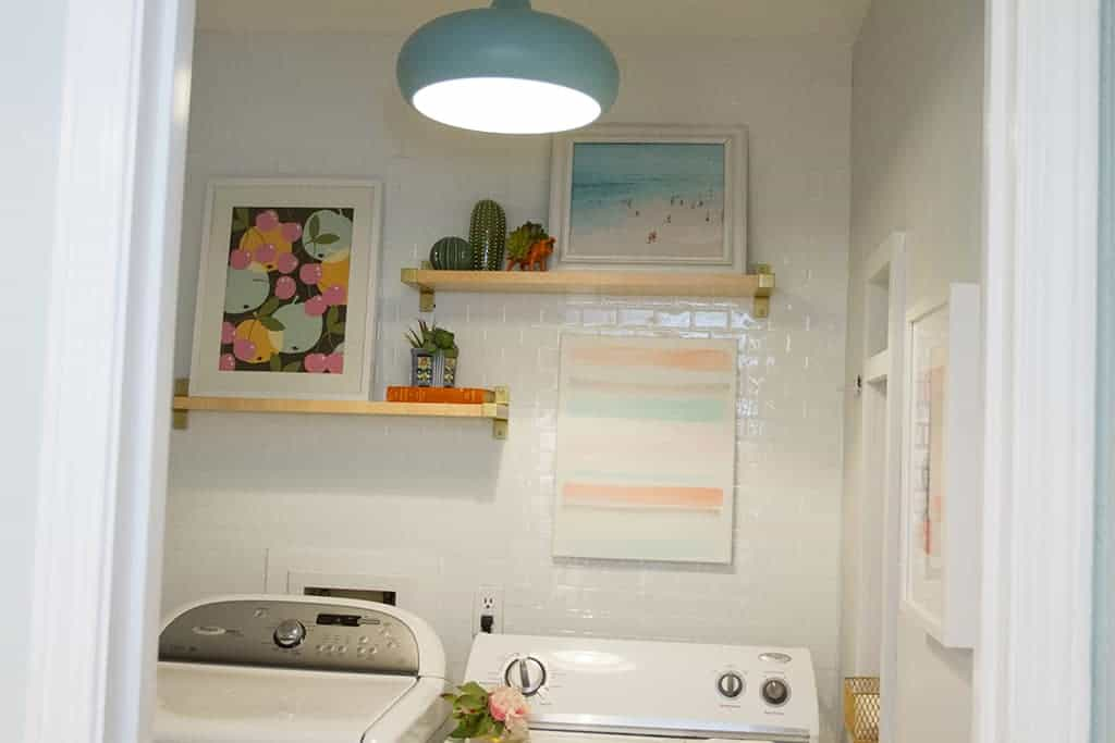 DIY //  LAUNDRY ROOM UPDATE