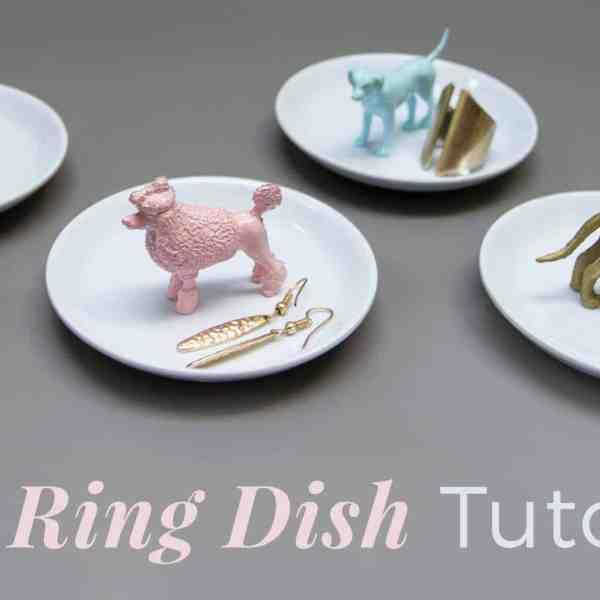 DIY  //  RING DISH