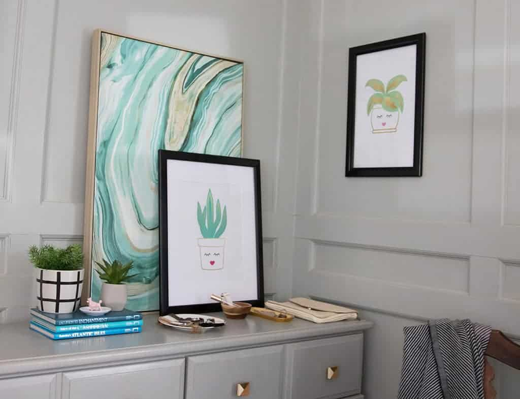 SNAPEZO FRAMES PAIR PERFECTLY WITH OH SO LOVELY FREE PRINTABLES