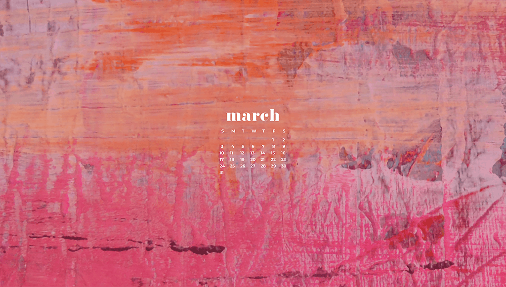Audrey of Oh So Lovely Blog shares 10 FREEMarchdesktop wallpaper calendars. They're available in 10 different designs, in both Sunday and Monday starts, for both desktop and smartphone. Download yours today!