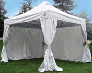 Industrial Grade White Canopy Tent