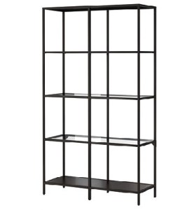 Black Shelves Lauren Metal