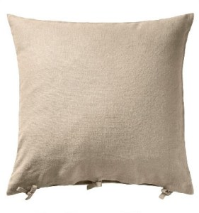 Tan Cotton Pillow