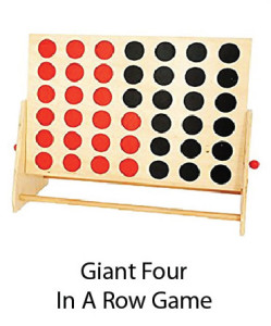 Giant Four in a Row Game