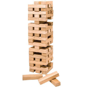 Wooden Blocks Game Giant