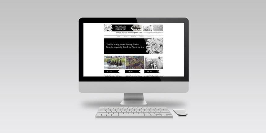 Brougham Web Mockup